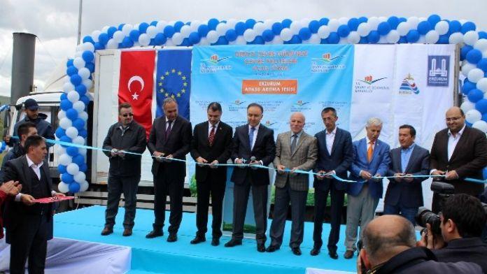 Atık Su Arıtma Tesisi Telekonferansla Açıldı