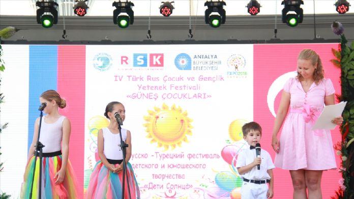 Türk-Rus çocuklarından 'Güneş Çocukları' dans yarışması