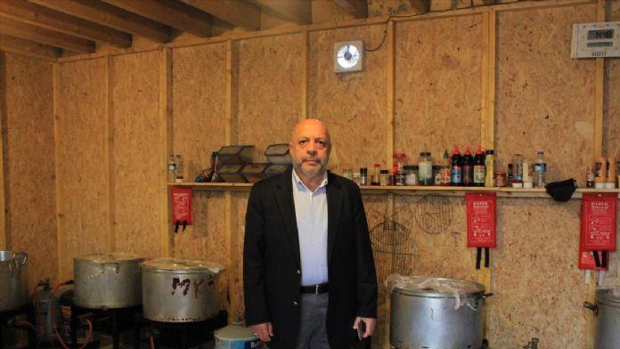 HAK-İŞ Genel Başkanı Arslan, Jungle kampında