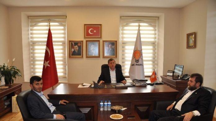 Yeşilay'dan AK Parti İl Başkanı Revi'ye Ziyaret