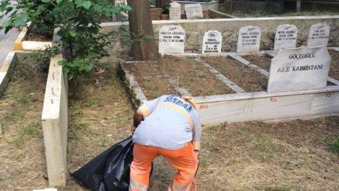 Gebze Mezarlıkları Temizleniyor