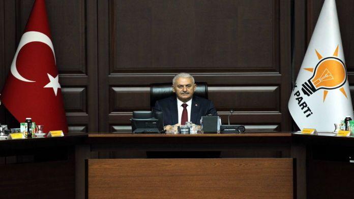 Başbakan MÜSİAD heyetiyle görüştü