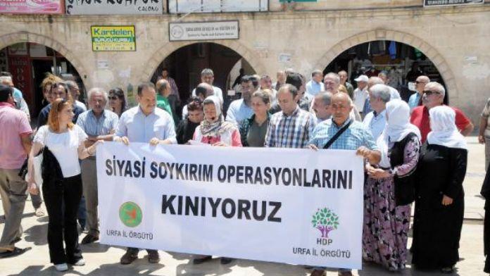 HDP'lilerin Tutuklanması Şanlıurfa'nın Derdi Oldu
