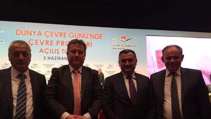 Mehmet Cabbar, Çevre Projeleri Açılış Törenine Katıldı