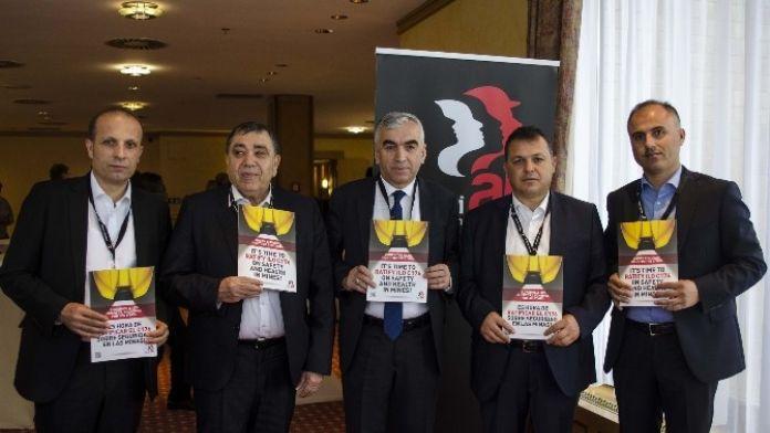 Genel Maden-iş, Dünya Madencilik Konferansı'na Katıldı