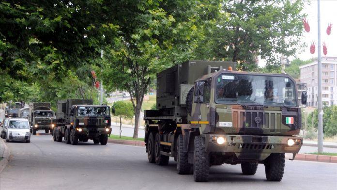 NATO hava savunma sistemi Kahramanmaraş'ta