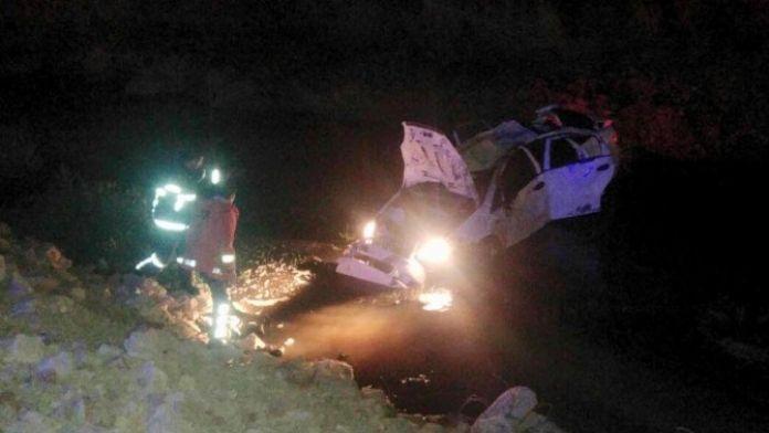 Mardin'de otomobil uçuruma yuvarlandı: 5 Yaralı
