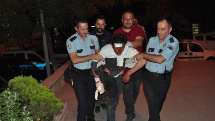 Damattan bahşiş alamayınca olay çıkardı, polisi peşine taktı