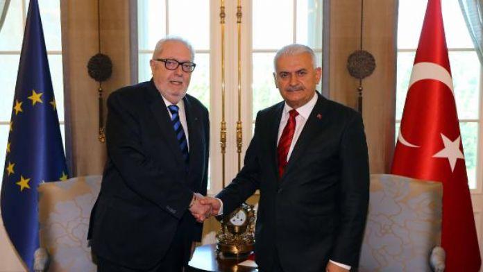 Başbakan Yıldırım, Avrupa Konseyi Parlamenter Meclisi Başkanı ile görüştü