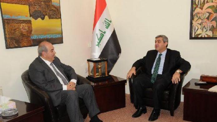 Türkiye'nin Bağdat Büyükelçisi Kaymakcı, Eyad Allavi ile görüştü