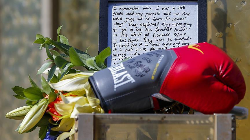 Muhammed Ali'nin Tabutunu Ünlüler Taşıyacak