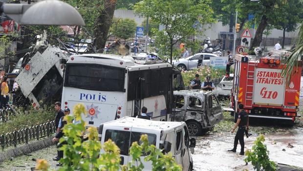 İstanbul Patlamasının Görgü Tanığı O Anları Anlattı!