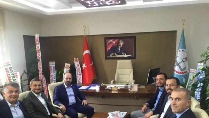 AK Parti Milletvekilleri Milli Eğitim Müdürü Demir'i Ziyaret Etti
