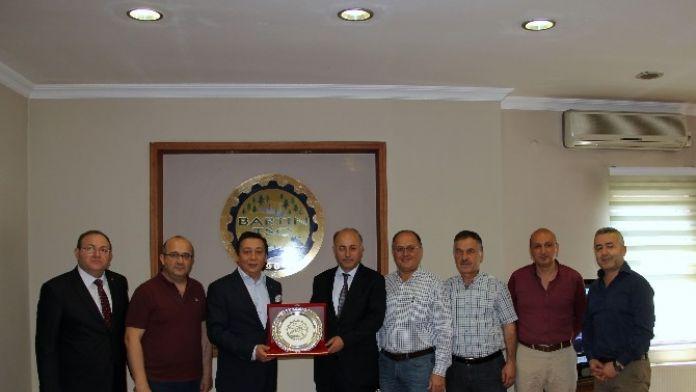 Bartın Valisi Azizoğlu'ndan Bartın TSO'ya Veda Ziyareti