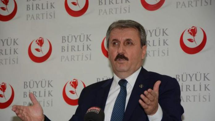 BBP Genel Başkanı Destici: 'Bu milletin sabredecek gücü kalmadı'