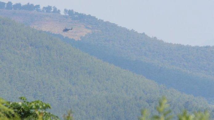Tuzaklanan bomba patladı, 1 asker yaralandı