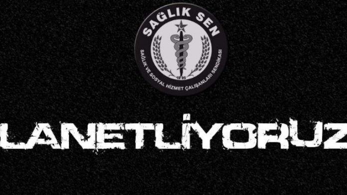 Aydın Sağlık-sen İstanbul'daki Terör Saldırısını Kınadı