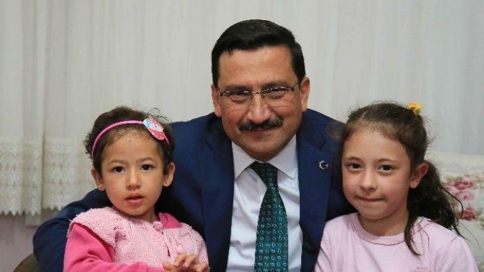 Başkan AK Ev Ziyaretleri İçin Bağlum'da