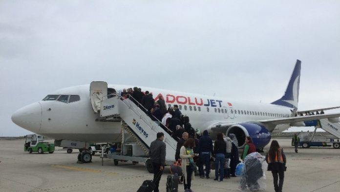 Ordu-giresun Havalimanı'ndan Bir Yılda 476 Bin Yolcu Taşındı