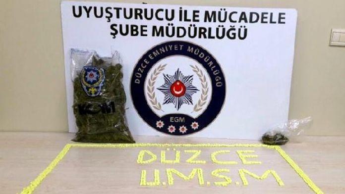 Düzce'de uyuşturucuya 1 tutuklama