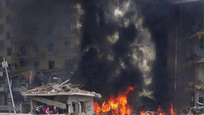 Nidyat'ta bombalı araçlı saldırısı: 1 polis şehit, 2 vatandaş öldü