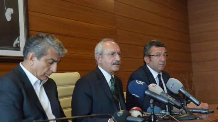 Kılıçdaroğlu ' Sürekli bağıran biri önümden geçerken bu kurşunu atmıştır' (1)