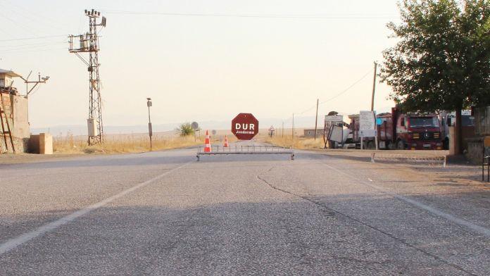 Terör riski nedeniyle o yol kapatıldı