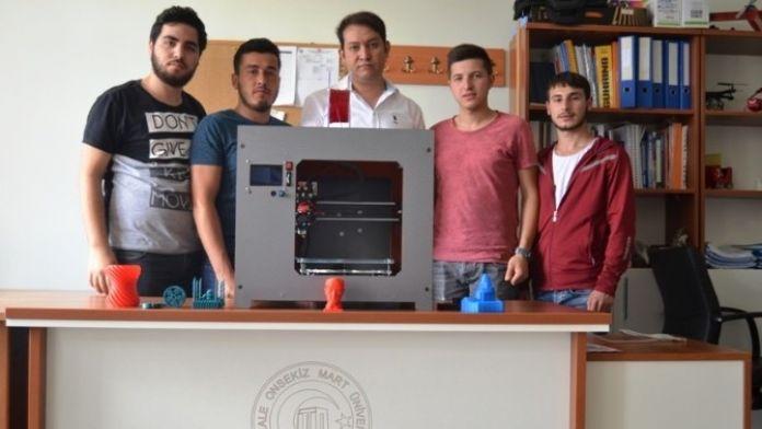 Bigalı Öğrenciler 3d Printer Cihazı Üretti