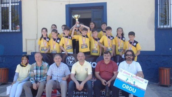 Çocuk Oyunlarında Türkiye Şampiyonu Oldular