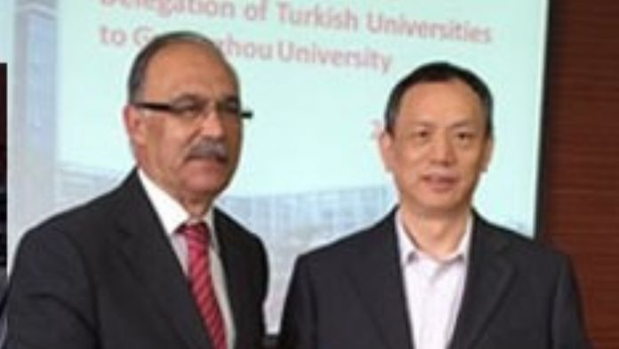 Guangzhou Universty İle İşbirliği Protokolü İmzalandı
