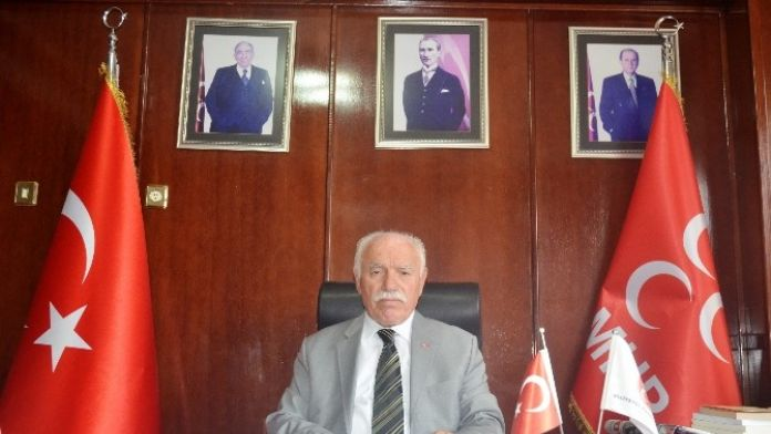 MHP İl Başkanı Erdem 1 Yıllık Süreci Değerlendirdi