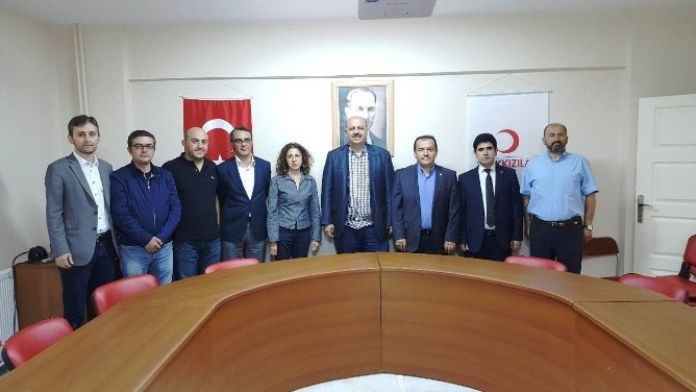 Ercoşkun'dan Kızılay Yönetimine Ziyaret