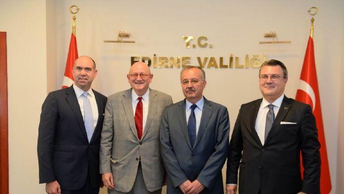 ABD Dışişleri Bakanı Kerry'nin Özel Temsilcisi Forman Edirne'de