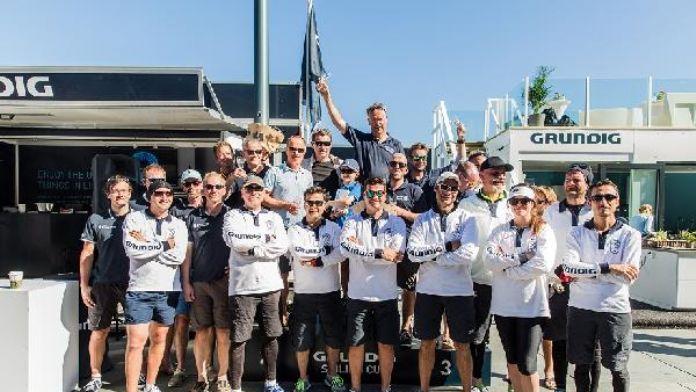 Grundig Sailing Cup'ta Norveç etabı sonuçlandı