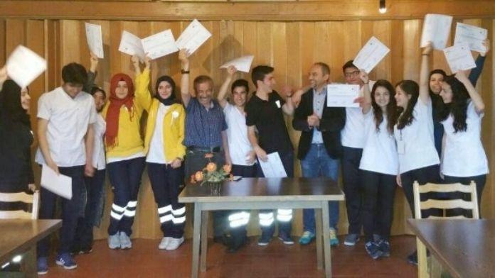 Aksaray'da Sağlıkçılar Avrupa'da Staj Yaptı