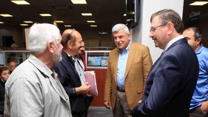 Başkan Karaosmanoğlu'ndan İsu'ya Ziyaret