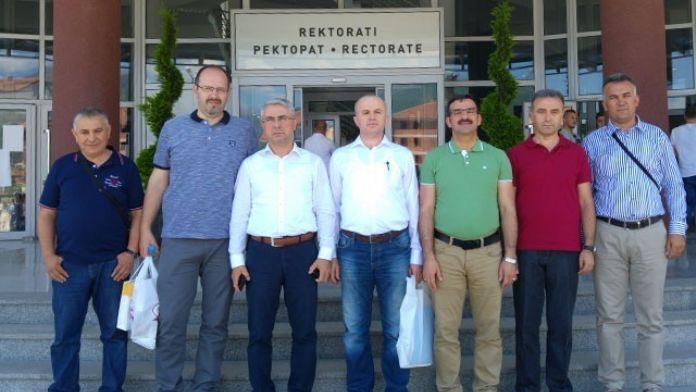 İnönü Üniversitesi Heyeti, Makedonya'da