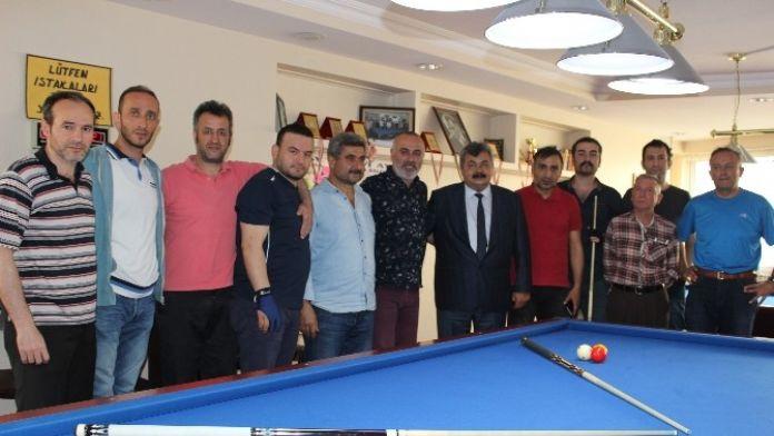Zonguldak'ın Kurtuluşu İçin Bilardo Şampiyonası Düzenlendi