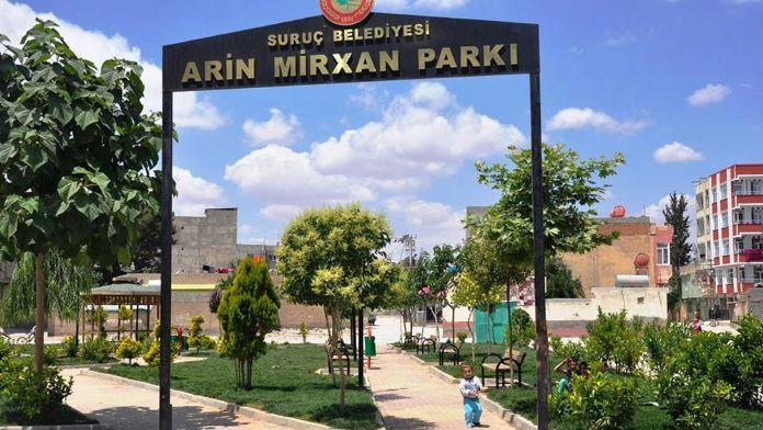 Canlı bombanın adını parka verdiler !