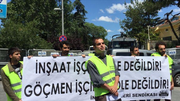 İnşaat-İş'ten Riyad'daki Türk işçilere destek