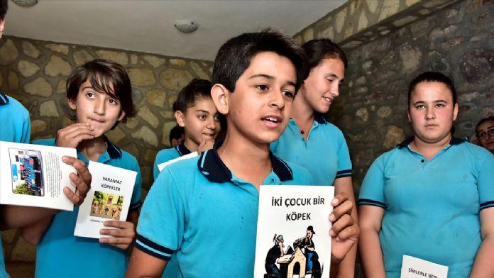 Bodrum'da 38 öğrenciden 38 kitap yazdı