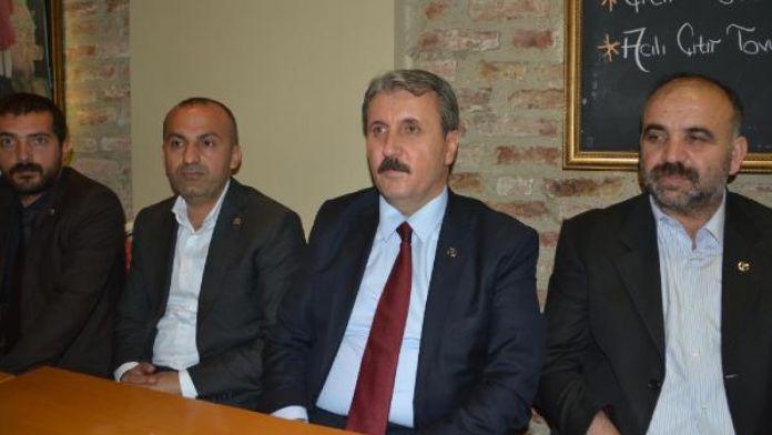 BBP Genel Başkanı Destici: Kurşun atacaksanız, PKK orada