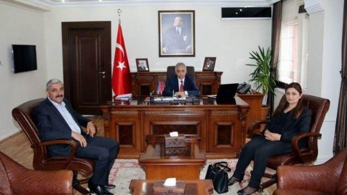 Başkan Vekili Yıldız'dan Vali Toprak'a Ziyaret