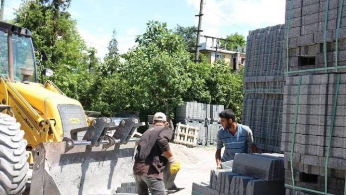 Bağlık Sokakta Yol Düzenleme Çalışmaları Başladı
