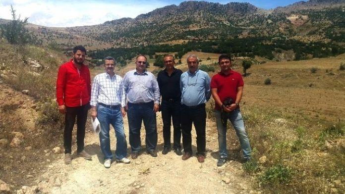 Pınaryayla Göleti'nin Yer Teslimi Yapıldı