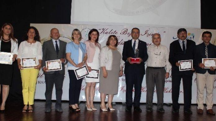Aydın'da 'Kalite Bizim İşimiz' Ödülleri Sahiplerini Buldu