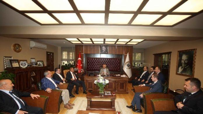 Afider Başkanı Arabacıoğlu'dan Yenimahalle Belediye Başkanı Yaşar'a Ziyaret