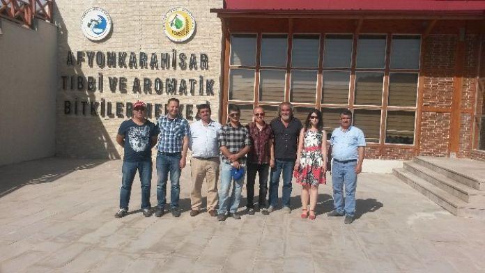 Afyonkarahisar Ve Kütahya'da Tıbbi Ve Aromatik Bitkiler Teknik Gezisi