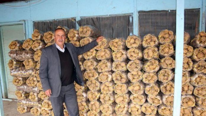 Pasinler Patatesi Erzurum'da SYDV'lerce Dağıtıldı