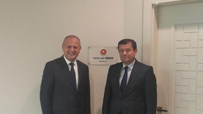 Başkan Keleş, Ankara'da Temaslarda Bulundu